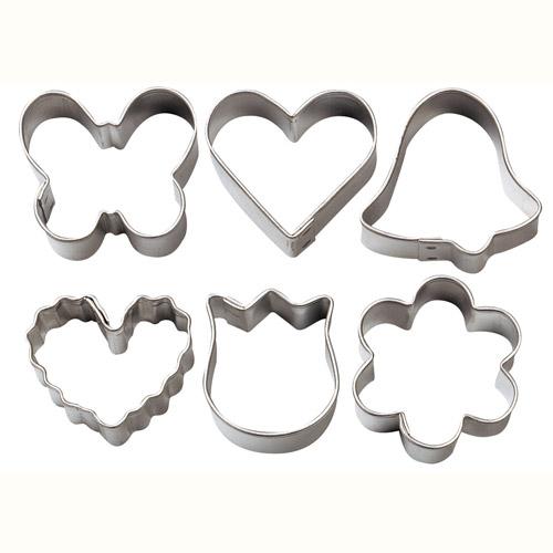 Set 6 mini-cortadores romantic