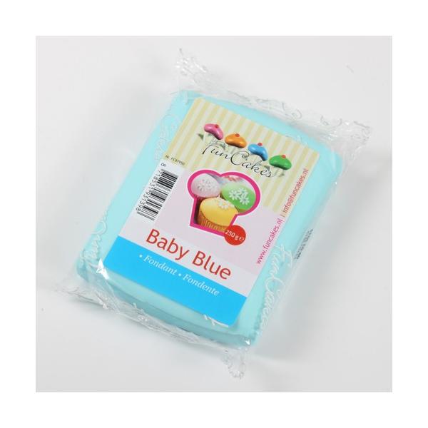 Fondant FunCakes Azul Bebé 250 gr