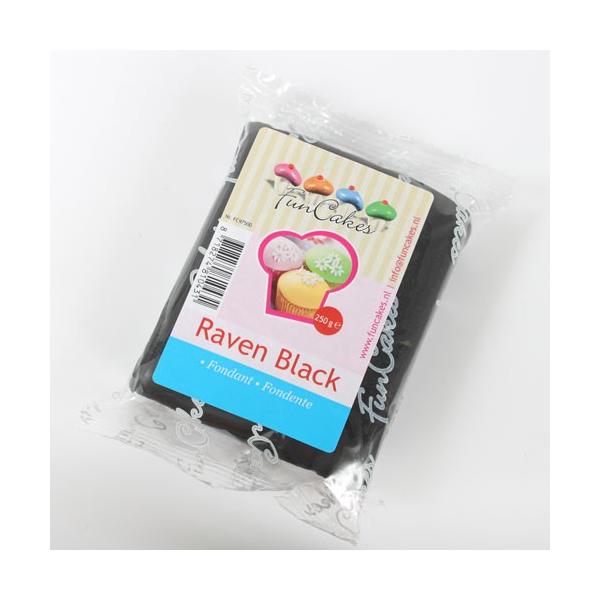 Fondant FunCakes Negro 250 gr