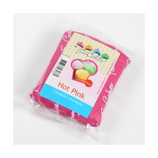 Fondant FunCakes Rosa Fuerte 250 gr
