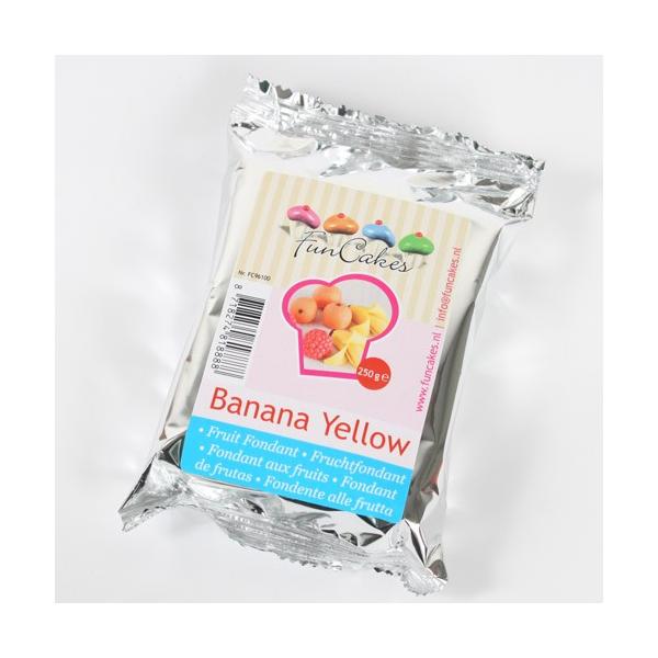 Fondant FunCakes Sabor Banana 250 gr