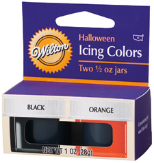 Kit 2 Colorantes Halloween (Negro-Naranja)