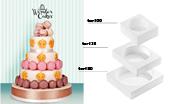 Kit moldes tarta clásica