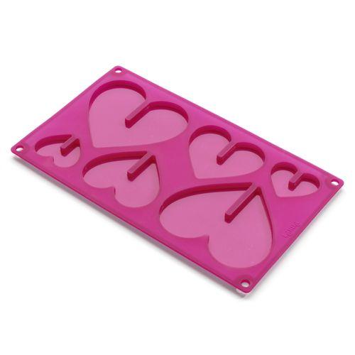 Molde corazones 3D