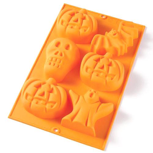 Molde Halloween 6 cavidades