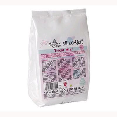 Tricot mix rosa 300 gr