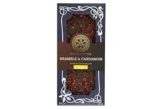 Chocolate Orgánico 'Moras & Cardamomo' 70%